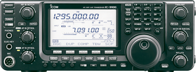 IC-9100 front