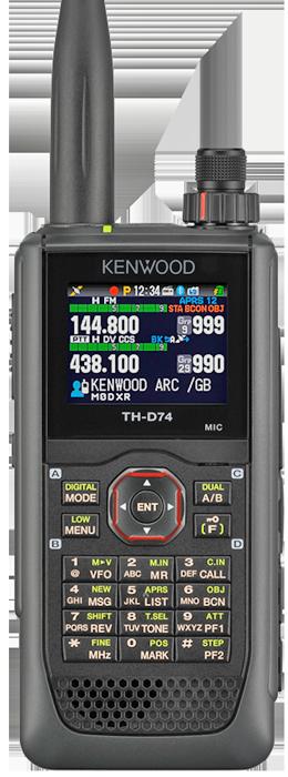 KENWOOD TH-D74E