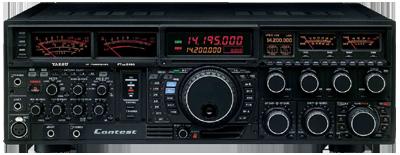 YAESU FT-DX 9000 Contest